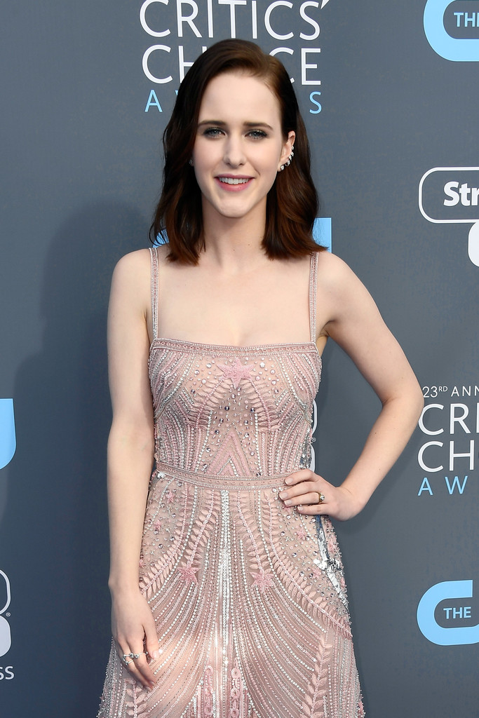 More Pics Of Rachel Brosnahan Beaded Dress 3 Of 6