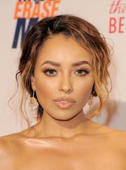 Kat Graham wore a messy-gorgeous chignon at the Race to Erase MS Gala.