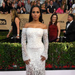 Kerry Washington in Roberto Cavalli Couture at the SAG Awards