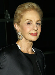 Carolina Herrera sported a simple short 'do at the 2014 Whitney Museum American Art Award Gala.