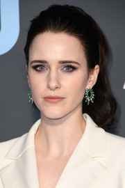 Rachel Brosnahan pulled her hair back into a classic ponytail for the 2019 Critics' Choice Awards.