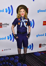 Madonna made quite the statement at the GLAAD Media Awards where she sported this Boy Scouts uniform.