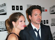 Susan Downey styled her hair in a simple ponytail for the American Cinematheque Award.