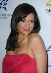 Constance Marie hit up the Genesis Awards with a layered cut that was nicely cropped around her face.