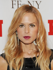 Rachel Zoe wore a shiny, shimmering berry lipstick at the 25th Annual Footwear News Achievement Awards.