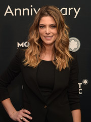 Ashley Greene looked pretty with her loose waves at the Montblanc de la Culture Arts Patronage Award.