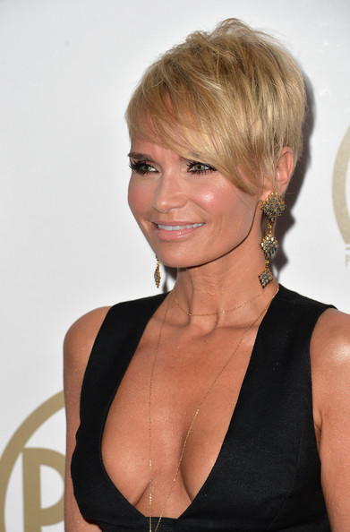 More Pics of Kristin Chenoweth Emo Bangs (4 of 16) - Kristin Chenoweth Lookbook - StyleBistro [hair,hairstyle,blond,chin,beauty,brown hair,long hair,chignon,neck,bangs,arrivals,kristin chenoweth,actress,beverly hills,california,the beverly hilton hotel,25th annual producers guild of america awards,producers guild of america awards]