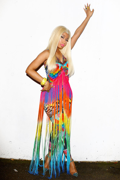More Pics of Nicki Minaj Long Straight Cut (1 of 10) - Nicki Minaj Lookbook - StyleBistro