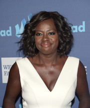 Viola Davis wore a fun and fabulous curled-out bob at the GLAAD Media Awards.