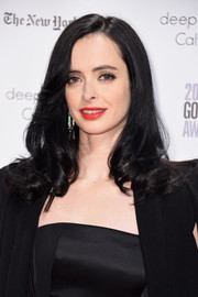 Krysten Ritter attended the Gotham Independent Film Awards wearing a side-parted 'do with curly ends.
