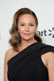Diane Lane looked beautiful with her gently wavy 'do at the 2020 Elton John AIDS Foundation Oscar-viewing party.