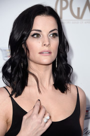 Jaimie Alexander accessorized with a stunning diamond ring.