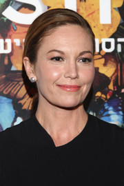 Diane Lane sported a simple side-parted ponytail when she attended the Israel Film Festival opening.