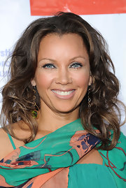 Vanessa Williams wore her long hair in casually tousled layers while attending the second annual Wisteria Lane block party.