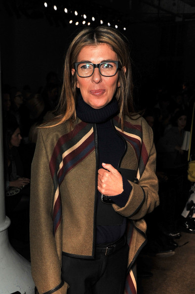 More Pics of Nina Garcia Wool Coat (1 of 2) - Outerwear Lookbook - StyleBistro [eyewear,fashion,glasses,outerwear,fun,jacket,event,vision care,fashion design,suit,phillip lim,nina garcia,front row,new york city,highline stages,mercedes-benz fashion week,fashion show]
