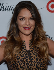 Sabrina Soto looked very feminine with this long wavy 'do at the 3.1 Phillip Lim for Target launch.