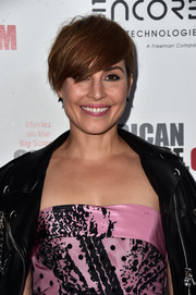 Noomi Rapace looked youthful and edgy with her emo bangs at the American Cinematheque Awards.