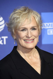 Glenn Close looked effortlessly cool with her messy short 'do at the 2019 Palm Springs International Film Festival Awards Gala.