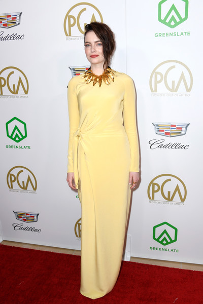 Look of the Day: January 22nd, Emma Stone