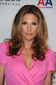 Daisy Fuentes showed off her shoulder length curls while hitting an event in Beverly Hills.