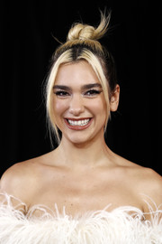 Dua Lipa kept it fun and trendy with this top knot at the 2019 ARIA Awards.