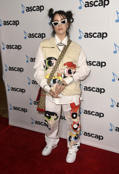 More Pics of Billie Eilish Butterfly Ring (1 of 5) - Butterfly Ring Lookbook - StyleBistro [music,clothing,eyewear,red carpet,costume,carpet,flooring,suit,fictional character,arrivals,billie eilish,musician,guy,ascap pop music awards,clothing,eyewear,beverly hills,the beverly hilton hotel,billie eilish,music,2019 iheartradio music awards,popular music,music award,singer,bad guy,billboard,musician]