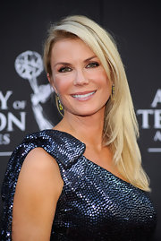 Katherine Kelly Lang looked sweet and sophisticated at the Daytime Emmys with her long blonde hair in a side sweep.