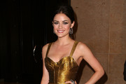 Actress Lucy Hale arrives at the 36th Annual Gracie Awards Gala on May 24, 2011 in Beverly Hills, California.