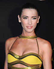 Jacqueline MacInnes Wood went for classic elegance with this Croydon facelift 'do at the Daytime Emmy Awards.
