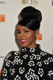 Janelle Monae got majorly retro with this beehive bun for the Kennedy Center Honors Gala.