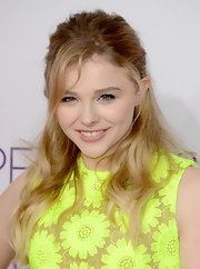 15-year-old Chloe Grace Moretz opted for a '60s-inspired look at the 2013 People's Choice Awards, made complete with these fluttery lashes.