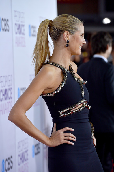 More Pics of Heidi Klum Ponytail (3 of 9) - Heidi Klum Lookbook - StyleBistro