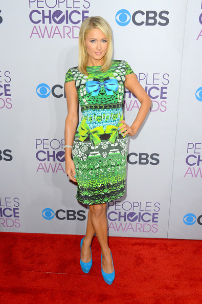 Paris Hilton at the 2013 People's Choice Awards