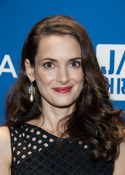 Winona Ryder S Long Curls Haute Hairstyles For Women