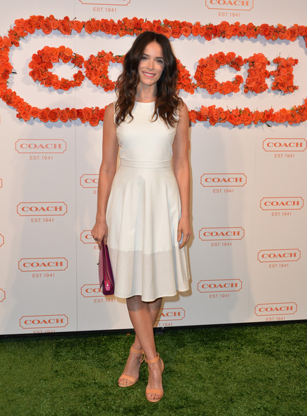 Abigail Spencer at the 3rd Annual Coach Evening to Benefit Children's Defense Fund