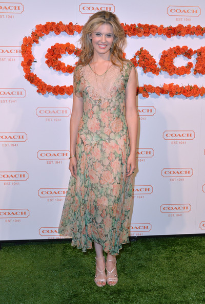 Maggie Grace at the 3rd Annual Coach Evening to Benefit Children's Defense Fund
