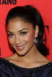 Nicole Scherzinger hit the 3rd annual 'Elle' Women in Music event wearing her long sleek tresses in a polished-looking ponytail.