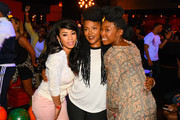 (L-R) Keyshia Cole, Keisha Epps and Brandy Norwood attend the 3rd annual Girls With Gifts Charity Bowling Tournament sponsored by Hennessy on March 15, 2015 in Santa Monica, California.