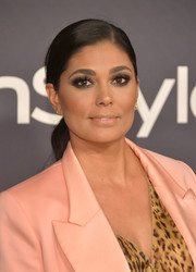 Rachel Roy sported a perfectly neat ponytail at the 2017 InStyle Awards.