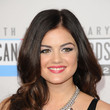 Lucy Hale's Bouncy Barrel Curls