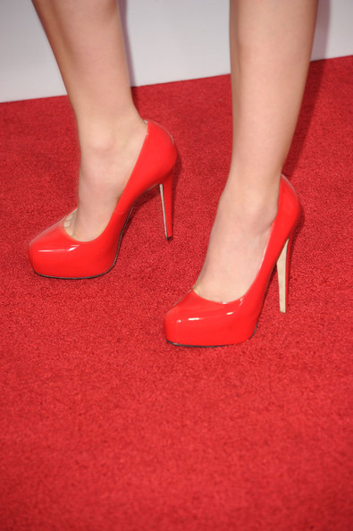 More Pics of Lucy Hale Pumps (1 of 8) - Lucy Hale Lookbook - StyleBistro