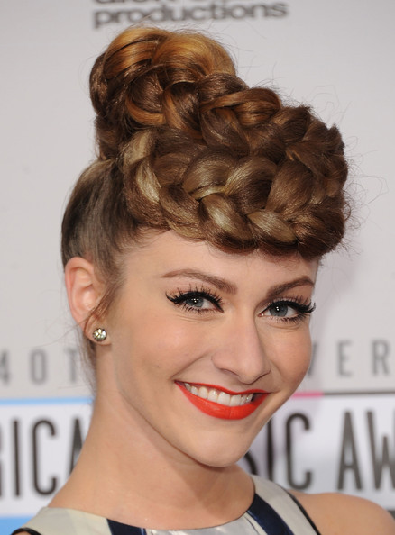 More Pics of Amy Heidemann Braided Updo (1 of 13) - Amy Heidemann Lookbook - StyleBistro