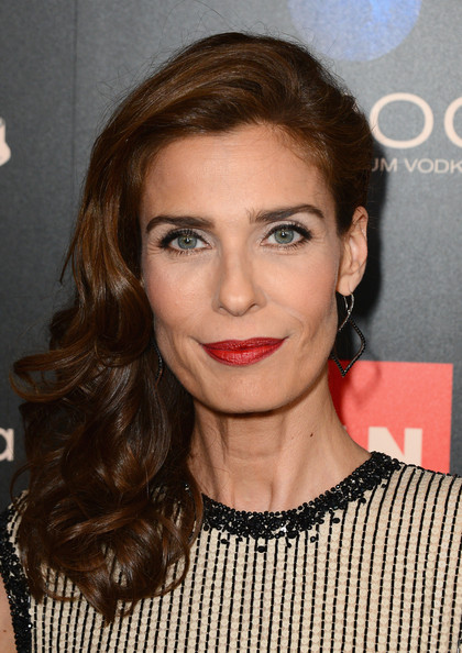 More Pics of Kristian Alfonso Side Sweep (1 of 5) - Long Hairstyles Lookbook - StyleBistro