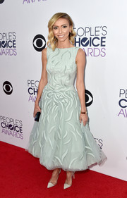 Giuliana Rancic looked just like a princess in her mint-green Tony Ward dress at the People's Choice Awards.