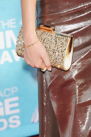Vitoria Justice opted for a Trinity Fleur bracelet in 18-karat rose gold with micro diamond pave at the 2011 NAACP Image Awards.