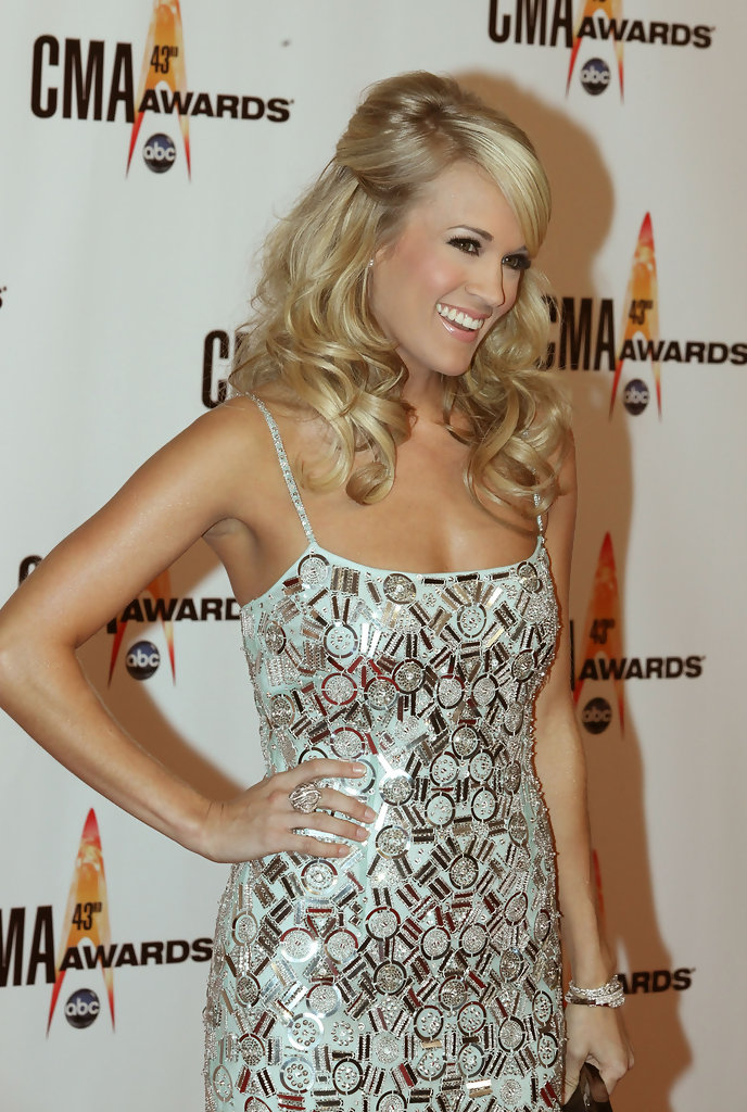 carrie underwood hair half up more pics of carrie