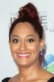 Tracee Ellis Ross wore her hair in a high bun at the NAACP Image Awards.