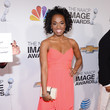 Kristolyn Lloyd at the 44th Annual NAACP Image Awards 2013