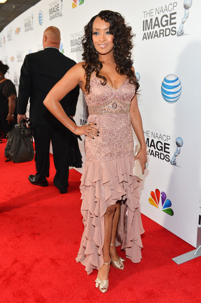 Jennia Fredrique at the 44th Annual NAACP Image Awards 2013