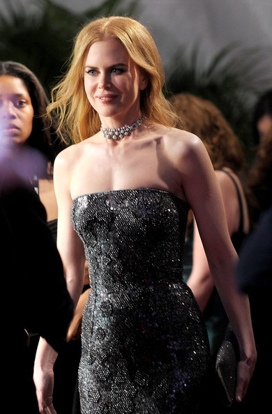More Pics of Nicole Kidman Diamond Choker Necklace (1 of 19) - Nicole Kidman Lookbook - StyleBistro